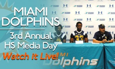 HSPN SPORTS™ COVERS THE 3RD ANNUAL DOLPHINS ACADEMY HIGH SCHOOL MEDIA DAY