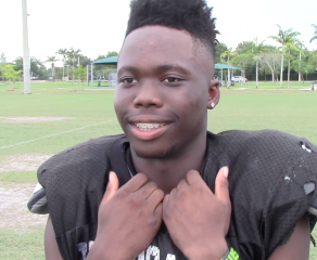 "Coral Glades' Sam Oshodi makes the MaxPreps ""Top 10 Plays of the Week"""