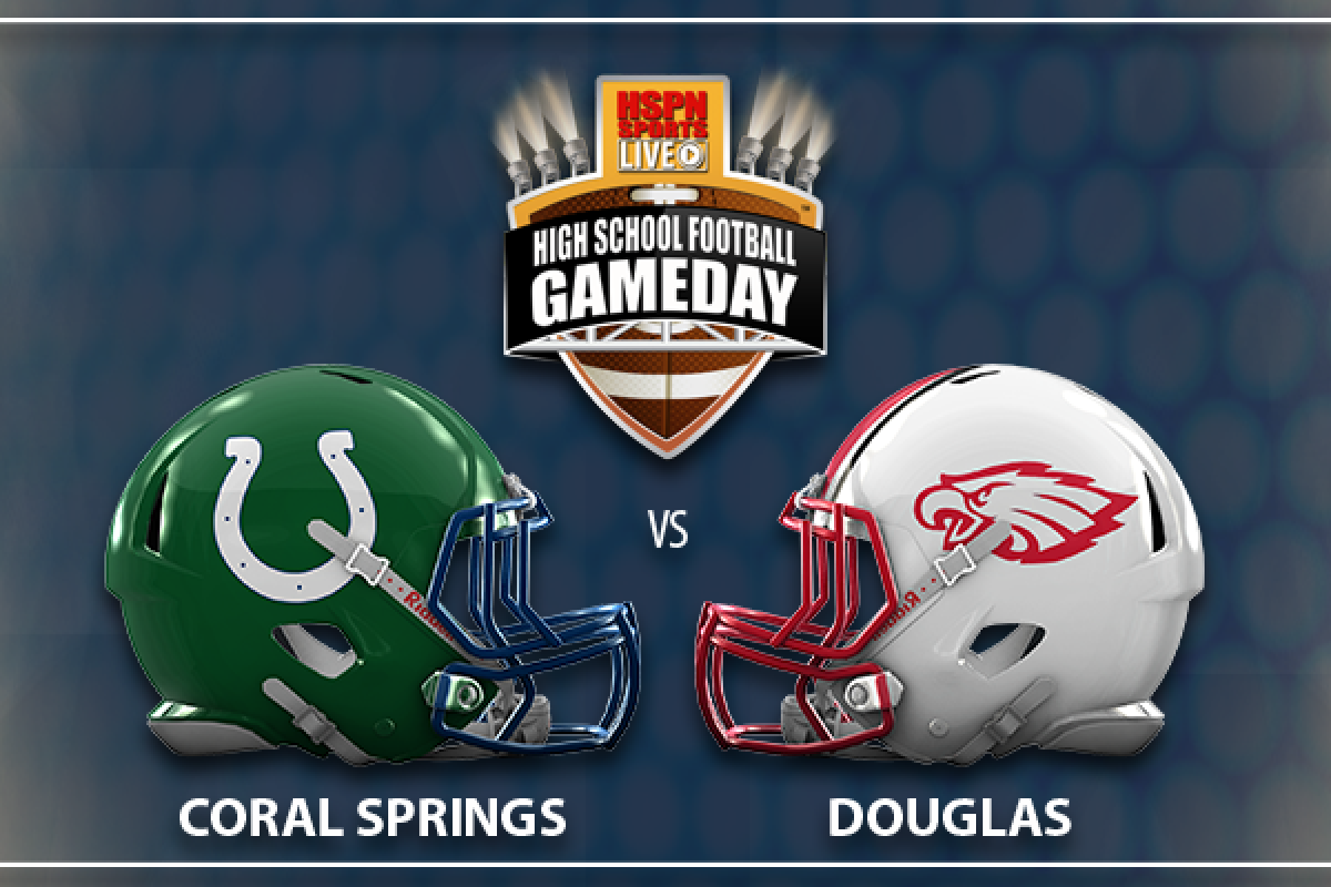 603f63ff Week #6 - District Play - Coral Springs Colts vs Douglas Eagles ...