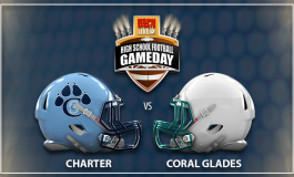 WEEK #7 - GAME 2 - CORAL SPRINGS CHARTER VS CORAL GLADES JAGUARS