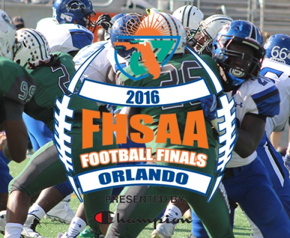 2016 Florida High School Football State Championships - REGIONAL FINAL MATCHUPS