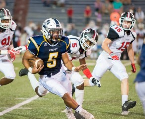 Nicholas Sims 3.8GPA, Murphy High School, Mobile, Alabama Rushes For Over 1092yds With 11 Rushing TD's