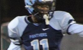 "#11 STEALTH TOP 60 Reynald Fleurival 5'8"", 160 lbs, CORAL SPRINGS CHARTER, CORAL SPRINGS, FL."