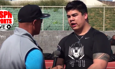 LIVE INTERVIEW - 'Best of the West' Reese Silofau, '19, 6-2, 285lbs, DL, Oaks Christian HS, Westlake Village, Ca.