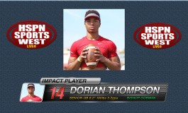 'Best of the West': QB Dorian Thompson Robinson Bishop Gorman HS Makes Debut Start Against DeMatha Catholic