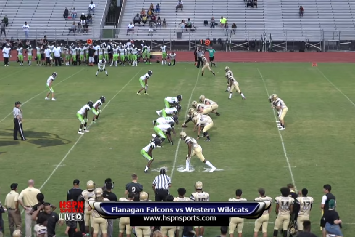 HSPN SPORTS FLORIDA – WESTERN WILDCATS (DAVIE, FLORIDA) WIN BIG DISTRICT 8A GAME 43-0