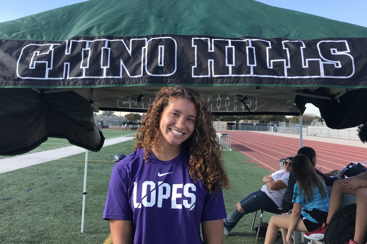 HSPN SPORTS WEST; CALIFORNIA – Chino Hills' Raeanne Jones 4.0gpa Loves to Compete & Confident in her Abilities to Succeed