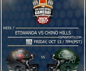 HSPN SPORTS WEST; Chino Hills, California - Etiwanda Eagles vs. Chino Hills