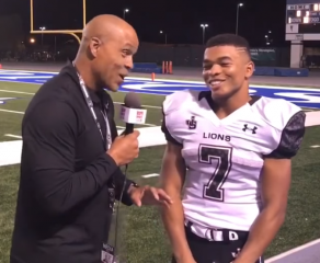 HSPN SPORTS WEST; CALIFORNIA - 'FRIDAY NIGHT LIGHTS' JSerra defeats League Rival Servite 52-28