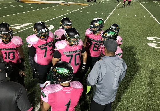 Eagles Fly in 35-0 Win Over Fightin' Scotts